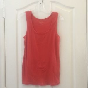 Ladies faded glory ribbed tank large